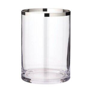 MOLLY Windlicht Vase Platinum