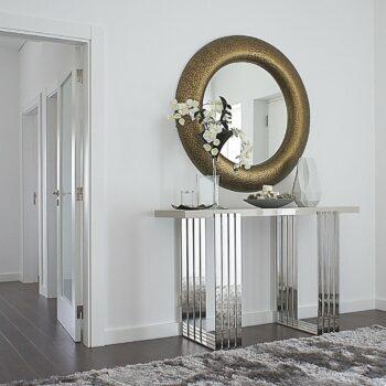MILLENIUM mirror D 120 cm silver color