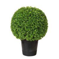 BUCHSKUGEL Kunstpflanze getopft H 52 cm | D 40 cm