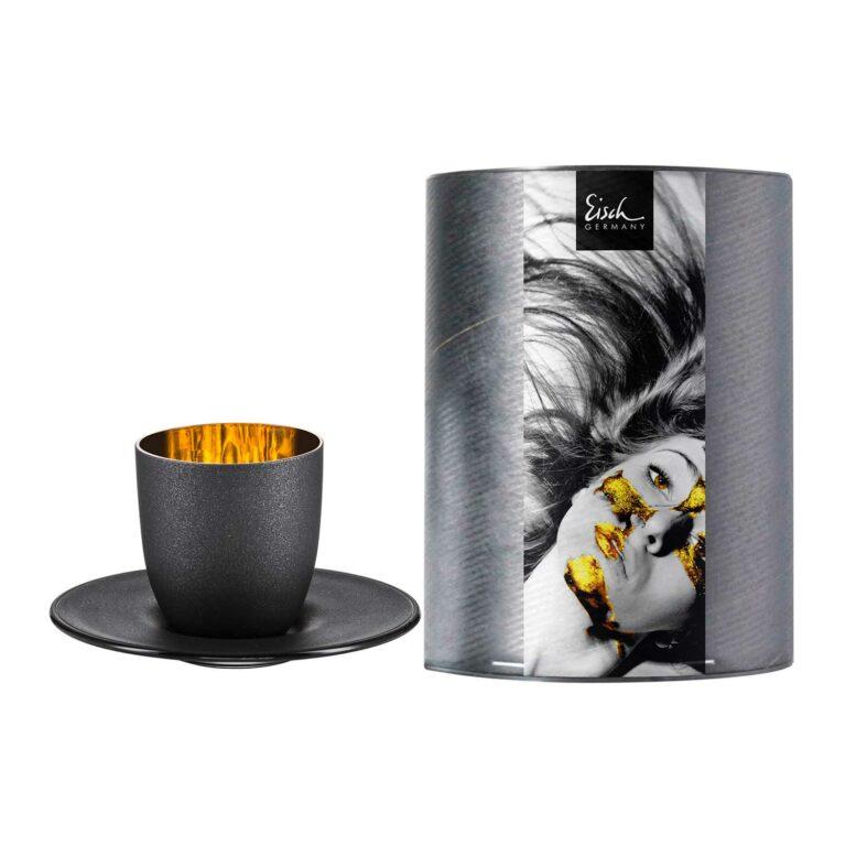 COSMO GOLD Espresso Kristallglas