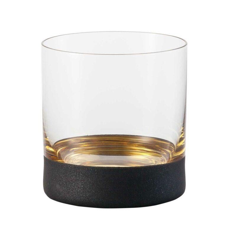 COSMO Gold Whiskey Kristallglass