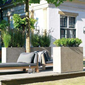 DIVISION Raumteiler natur-beton