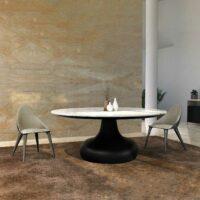 DORA Esstisch Carrara Marmor