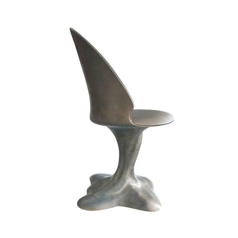 FLORA Stuhl Bronzefarbe