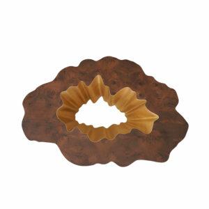 GAIA Couchtisch Nussbaumwurzel