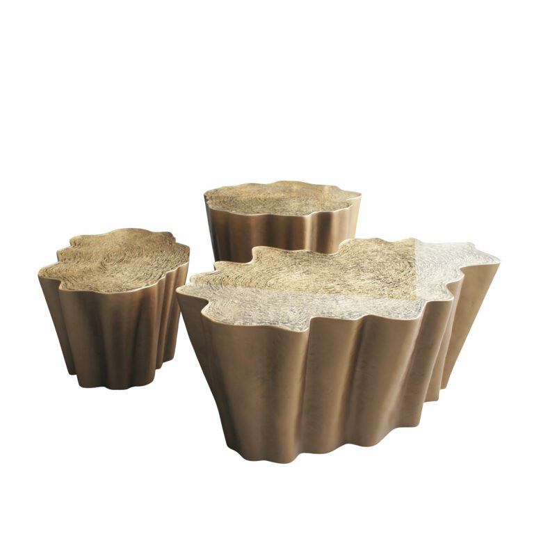 GAIA coffee tables K1084 a, b, c and set a-c