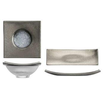 GOLD RUSH platinum caviar set