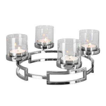 HOMMAGE Leuchterkranz mit Glas D 30 cm