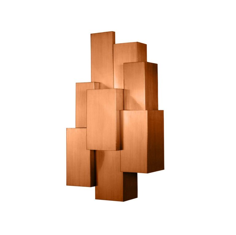 INSPIRING TREES wall light large brushed copper