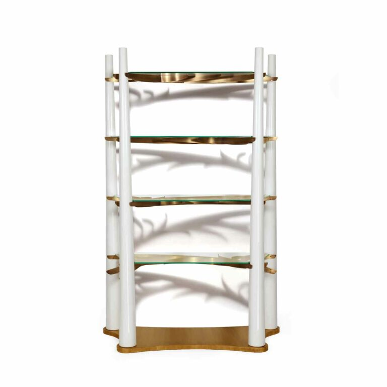 INTO THE WOODS bookcase white