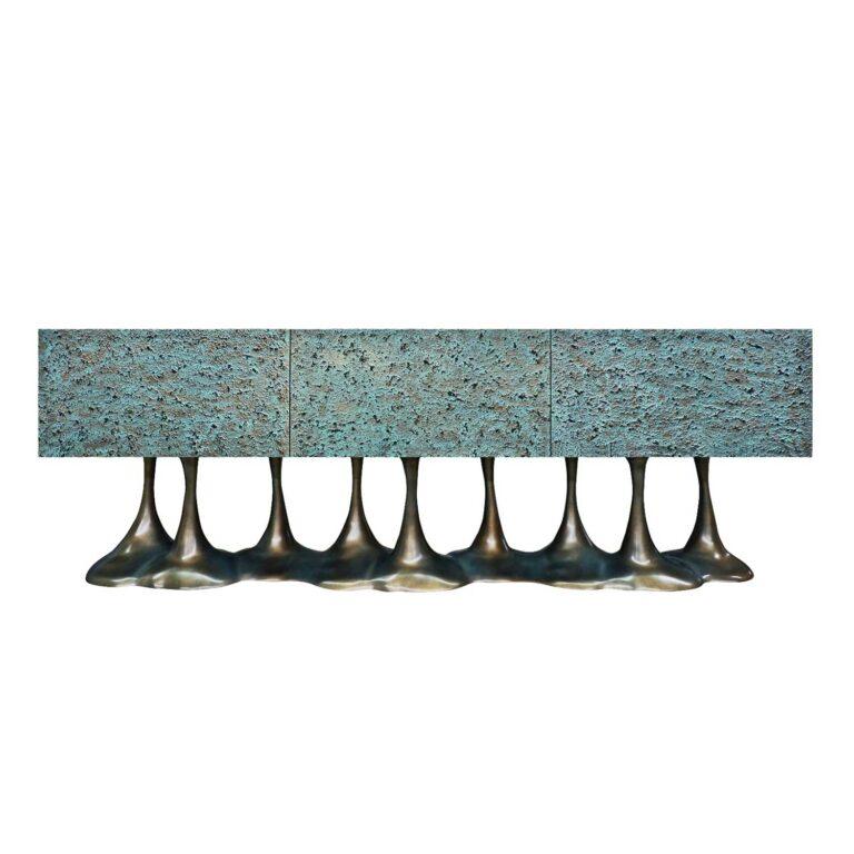 JANUS Sideboard Bronze Verdigris