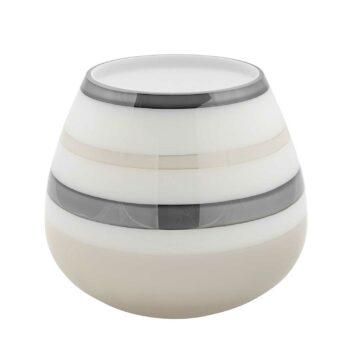 LAPAZ glass vase H 19 cm
