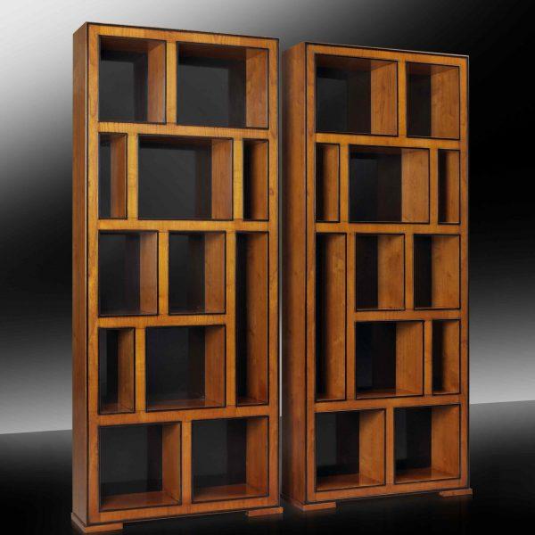 LEONARDO Bücherregal links braun