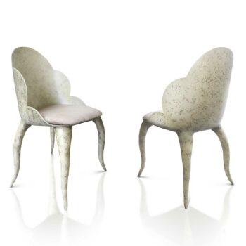 LUNA K1123 Stuhl natürlich gealtert