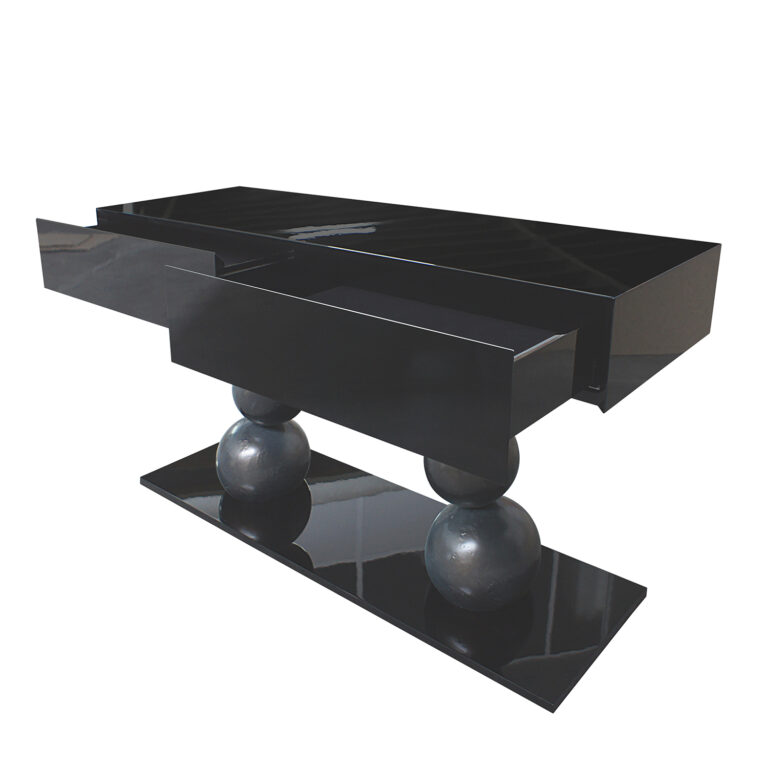MUSEU Konsole schwarze Struktur