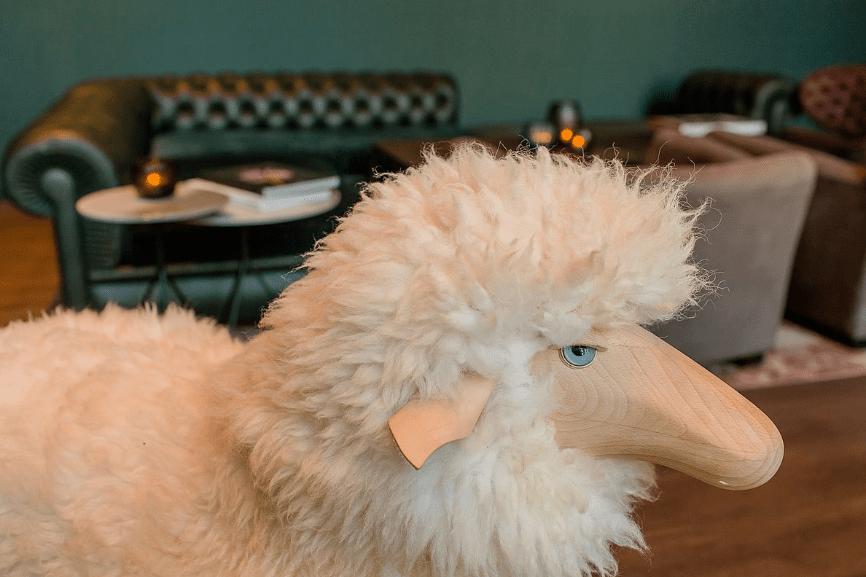 Sheep go to Glasgow