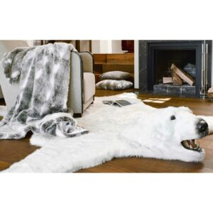 NANOOK Eisbär Teppich