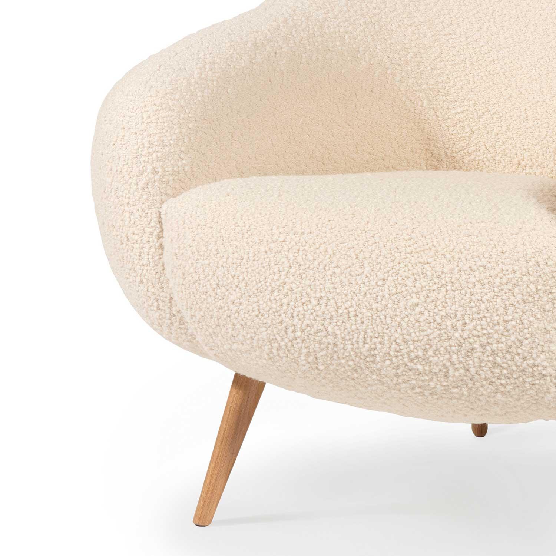 NIEMEYER Sessel Wolle