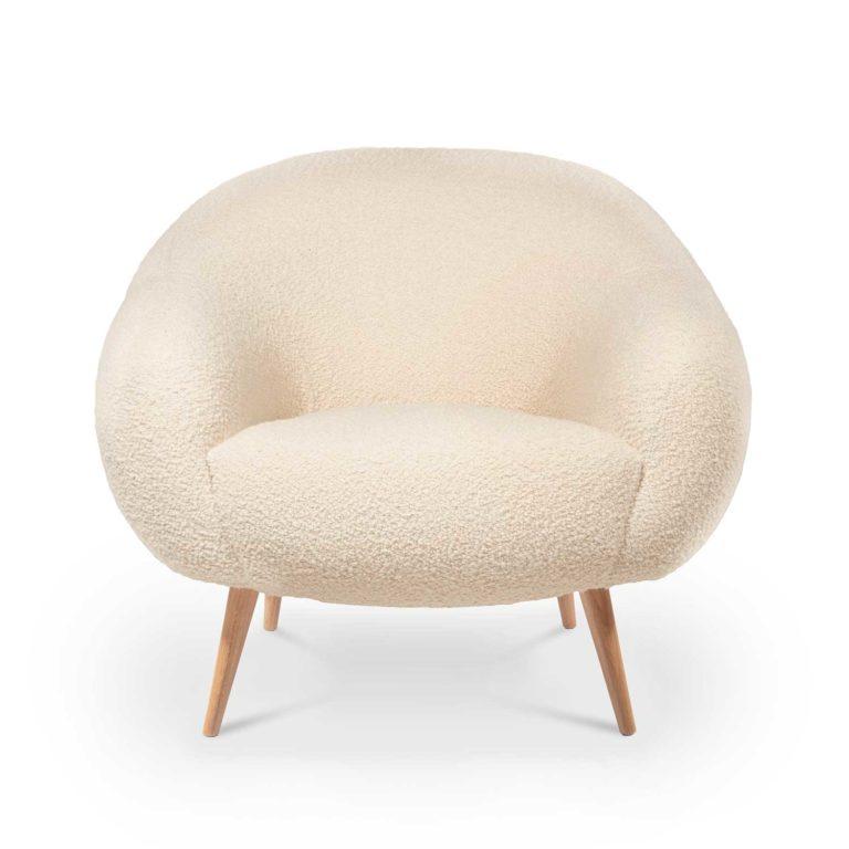 NIEMEYER armchair Woollen
