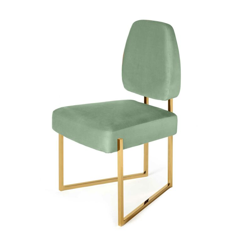 PERSPECTIVE dining chair light green