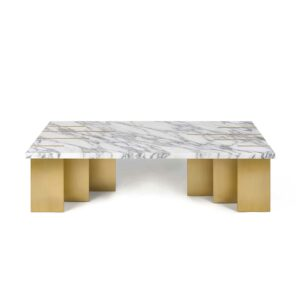 PIANIST center table Carrara marble