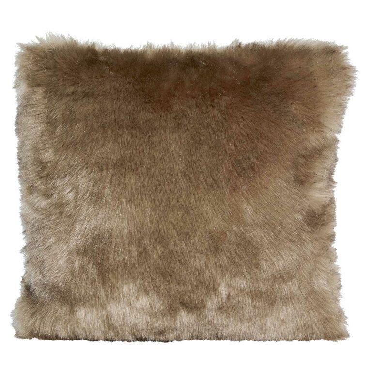 SAVANNAWOLF Kissen faux fur