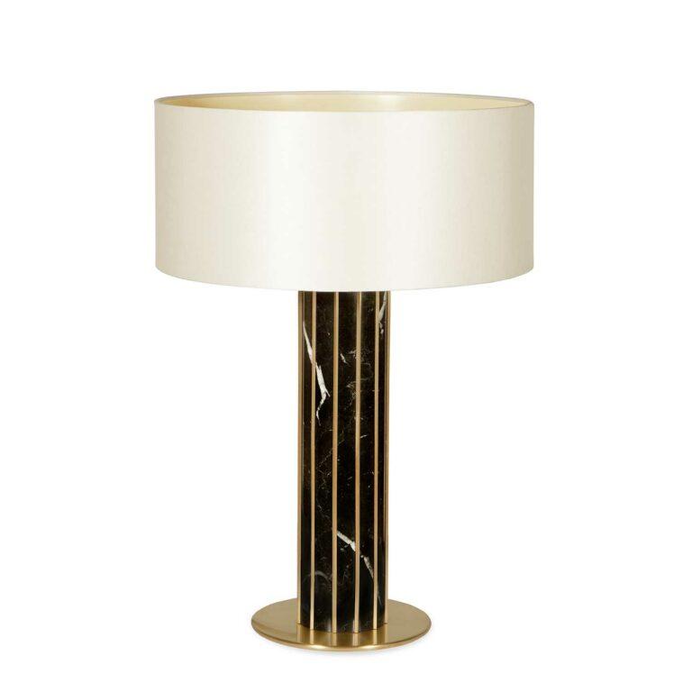 SEAGRAM table lamp Estremoz marble