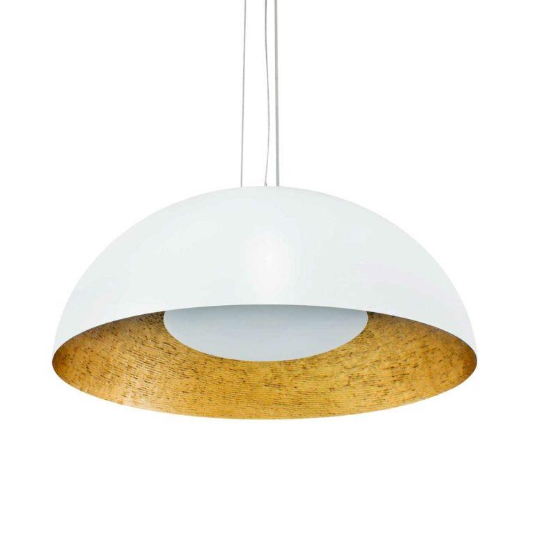SPLENDOR suspension lamp white 80 cm