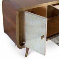 UNVEIL Sideboard, bronziertes Messing