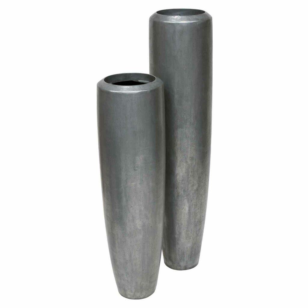 XL Bodenvase Aluminium
